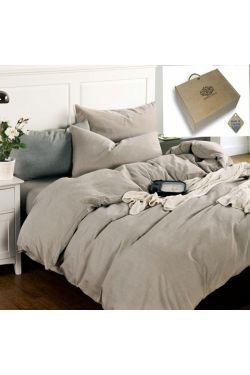 Постельное белье Бриллиантовый туман, лен - Комфорт-текстиль