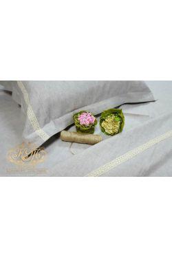 Постельное белье Льняные кружева, лен - Комфорт-текстиль